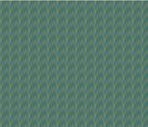 Peacock Stripes Fabric