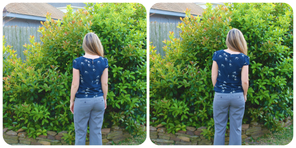 Back View Collage