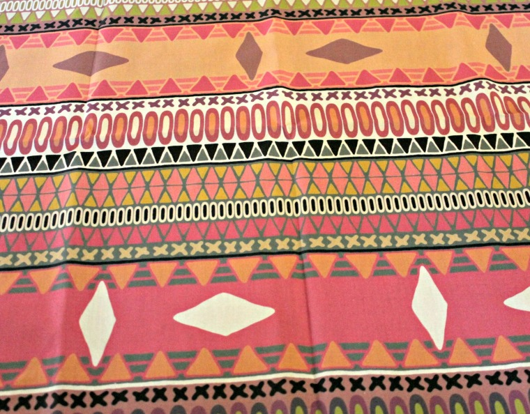 Tribal Print Fabric