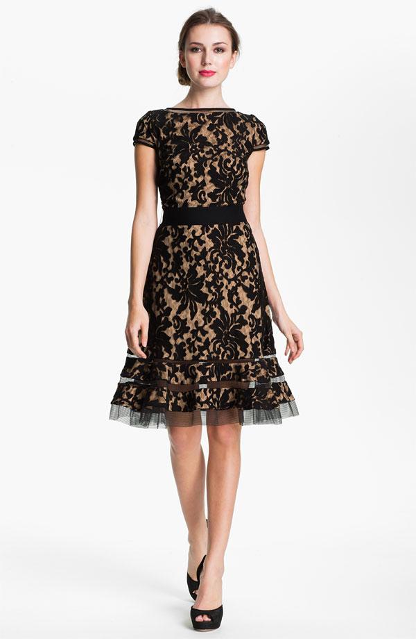 My inspiration - a dress by Tadashi Shoji